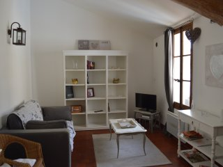 Charming apartment in the heart of l'Isle sur la Sorgue in very quiet area