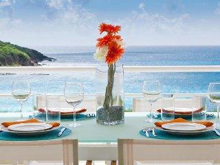 AMAYA... very modern villa in Indigo Bay w/ gorgeous ocean & beach views