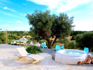 Ostuni indoor heated SPA pool & Jacuzzi in Apulian Paradise: TRULLI OF STARS