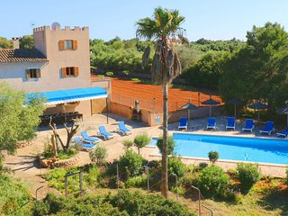 Can Palea, wifi free, private pool