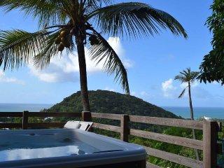 AZUR, bungalow spa privé vue mer