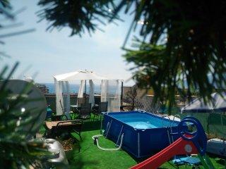 Camera con bagno e cucina a Salerno