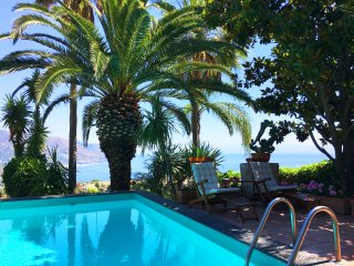 SEA VIEW PANORAMIC APARTMENT  Pool +Terrace Taormina
