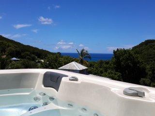 Appartement gite spa prive, vue mer Guadeloupe