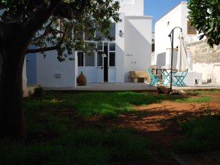 Casa Salentina con piscina idromassaggio all'ombra dei limoni a 4 km. dal mare