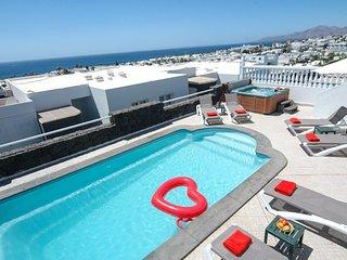 Villa with Sea Views, Private Pool, Hot Tub, WiFi  LVC196694
