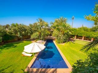 Villa luxe et authenticité dans la palmeraie