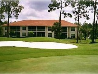 Our condo overlooks the 14th Fairway of the Flamingo Island Golf Course