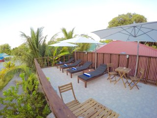 Open terrace for guest to relax