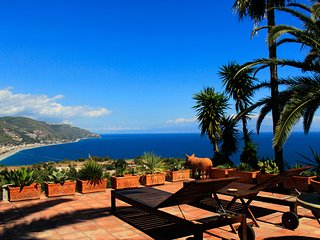 VILLA LOU TAORMINA PANORAMIC SUITE  Sea View Pool Terrace