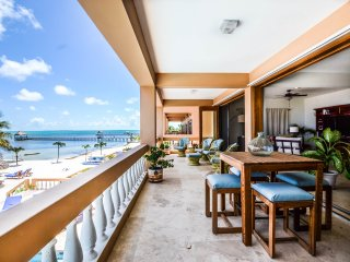 Spectacular beachfront views & breezes! 3 BR / 3 BA