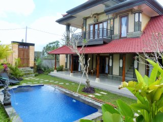 Super Cozy villa rice paddies view Ubud Bali