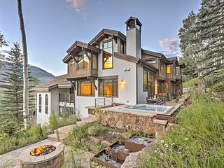 Stunning 6BR Vail House with Views and Hot Tub!