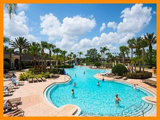 Windsor Hills Resort 325 - condo with shared pool and themed bedroom near Disney