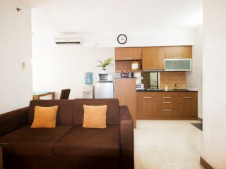 2 BR Great Location Taman Rasuna Apartment By Travelio