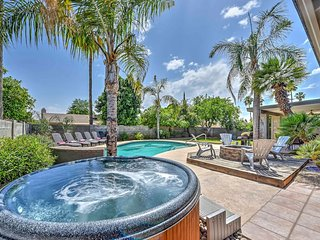 Scottsdale Stays-Sandra 8 Bed Kierland Home ❤️ Pool,Spa,Pool Table & Boccie Ball
