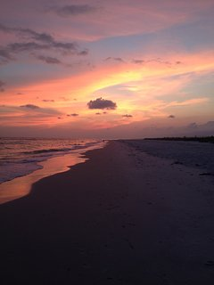 Sunset at Mexico Beach House