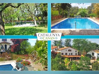 Catalunya Casas: Masia de Gaia for up to 39 guests in the Catalonia countryside!