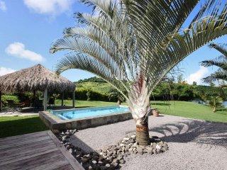 Villa Colibri, villa creole de charme avec piscine dans un ecrin de verdure