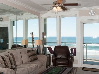 Ocean Whispers - 2nd Floor Oceanfront Condo, Private Hot Tub, Indoor Pool, WiFi!