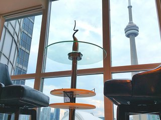 Amazing CN Tower View Modern 1 BR Condo Suite Downtown Harbourfront Toronto
