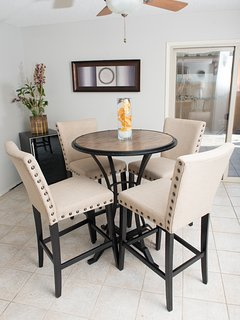 Dining Table - seats 4.