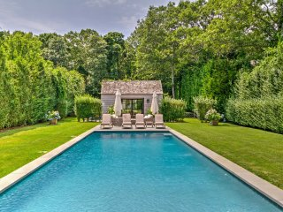 Amagansett Farmhouse w/Garden, Patio & Heated Pool