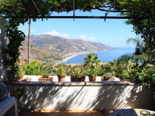 SEA VIEW VILLA LOU  Private Pool Terrace Taormina
