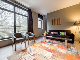 Spacious Schuman 301 apartment in European Quarter with WiFi.