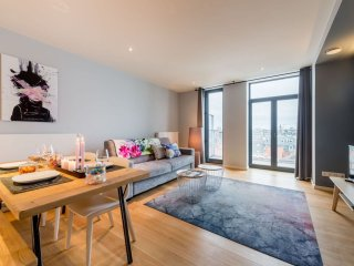 Grand-place 602 apartment in Brussel centrum with WiFi, privéterras, balkon