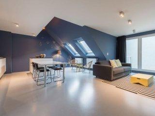 Postiers 502 apartment in Brussel centrum with WiFi, privéterras & lift.
