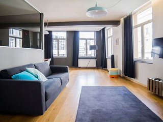 Monnaie 202 apartment in Brussels Centre with WiFi & lift.