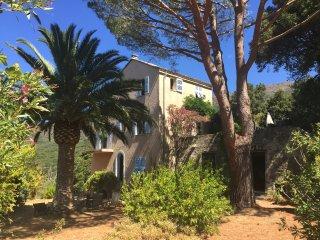 logement T2  indépendant dans maison de caractère dans le Cap Corse