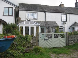 Lovely cottage in Great Urswick, overlooking tarn, and close to Lake District