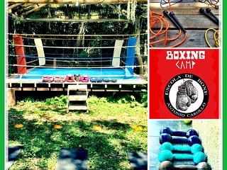 Boxing Camp - Hospedaria / Treino / Alimentacao