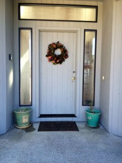 Welcoming front entry way