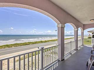 NEW! Lovely 4BR Oceanfront House on Flagler Beach!