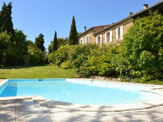 Gîte Passiflore for 6 in a big property with pool near Carcassonne and Toulouse
