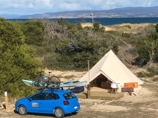 Pachamama Retreat-Beach Front Glamping Moon