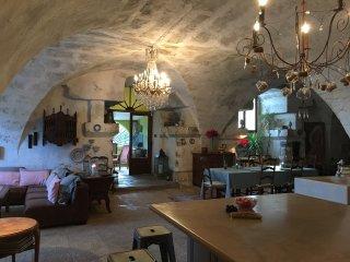 Charmant moulin renove du XVII siecle, proche Saint Remy au coeur des Alpilles.