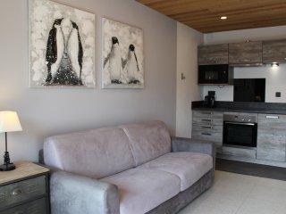 Appartement E5 résidence Lauvitel 33m2 + garage au pied du télésiège du Diable