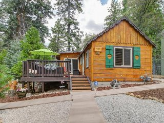 Ideal for a Snow Valley skication - includes furnished deck w/ private hot tub