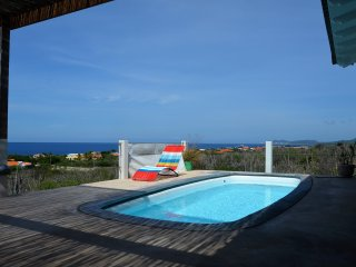 Villa Vincent, with sea views and nice wind