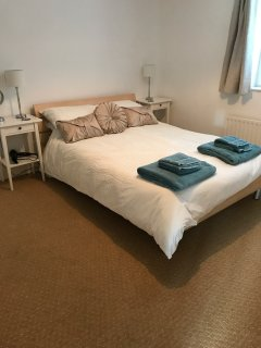 Double bedroom. Linen and towels are provided.