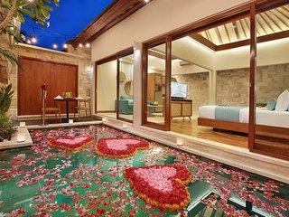 Romantic 1 Bedroom Private Pool Villa in Seminyak