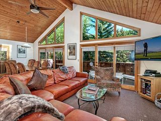 Eagle Vail Home w/ Sunny Mtn Views, Expansive Upper Deck, Includes A/C,10 Min
