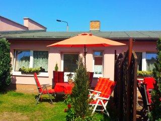 Ferienwohnung Heringsdorf 56 qm, strandnah, sonnig