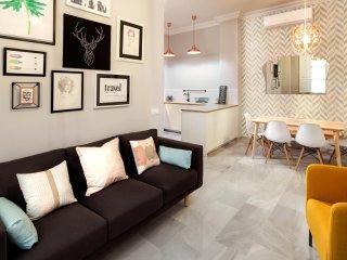 Romántico Apartamento- 3 dormitorios