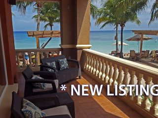 *NEW* Beachfront Suite - stunning views, wrap around terrace & full kitchen