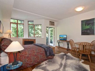 Charming and cozy Whistler Village studio in PERFECT location. Walking distance